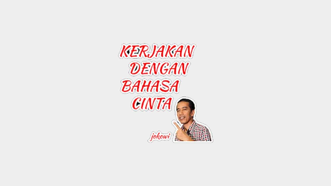 WAStickerApps Jokowi