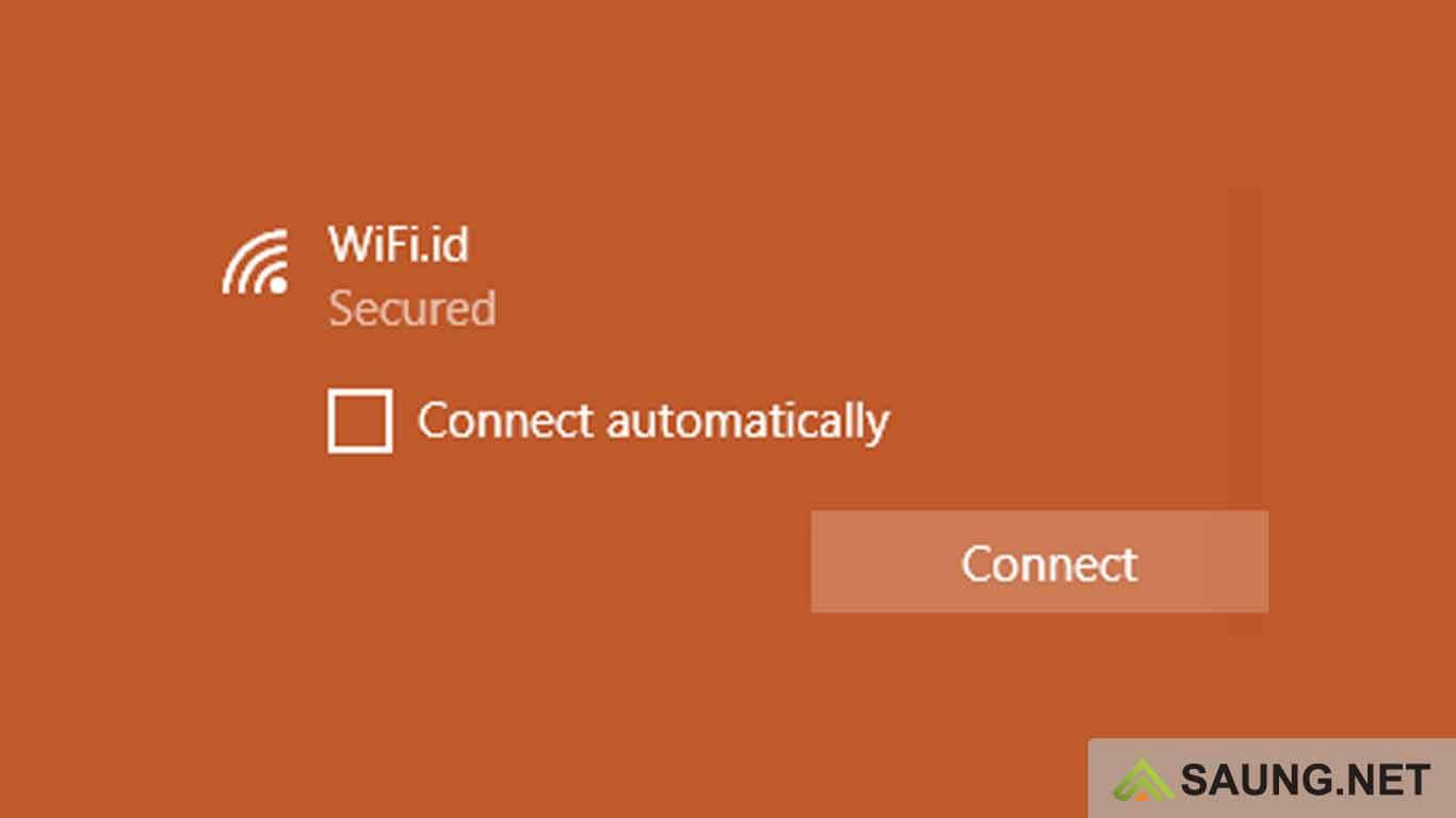 cara me logout wifi id