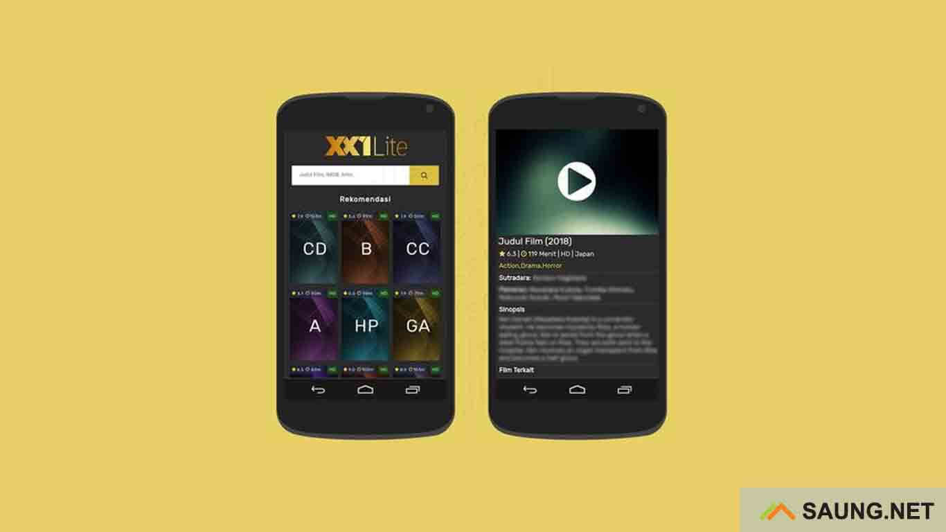 XX1 Lite - aplikasi download film terbaru