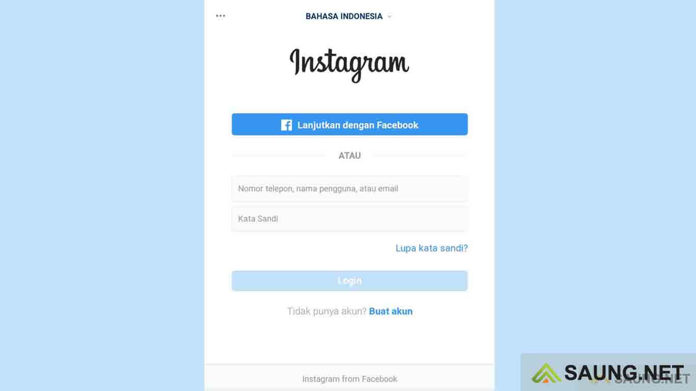 cara delete akun instagram