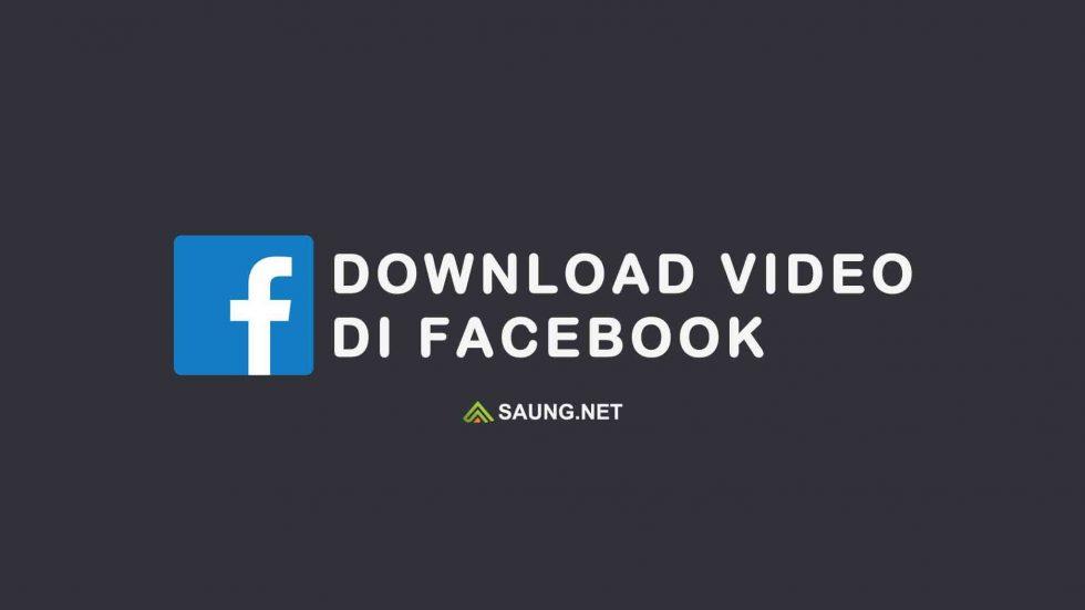 cara download video di fb