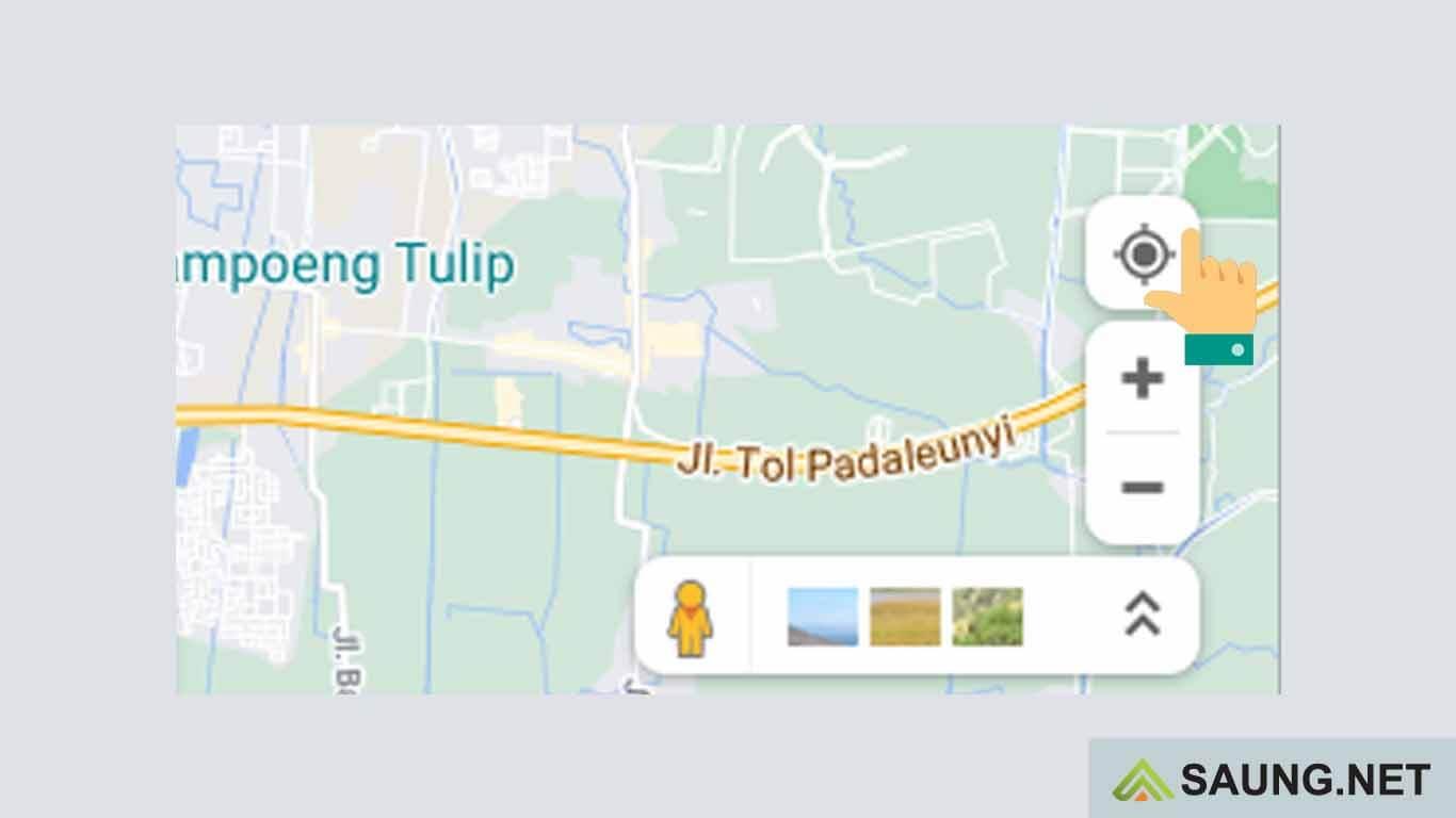 cara melihat koordinat di google maps