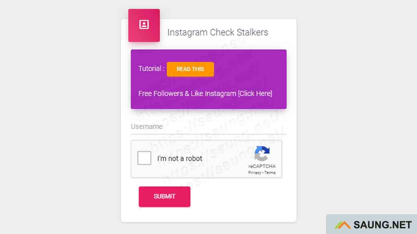 cara mengetahui stalker instagram