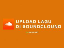 cara upload lagu ke soundcloud