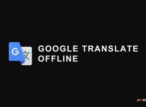 google translate offline