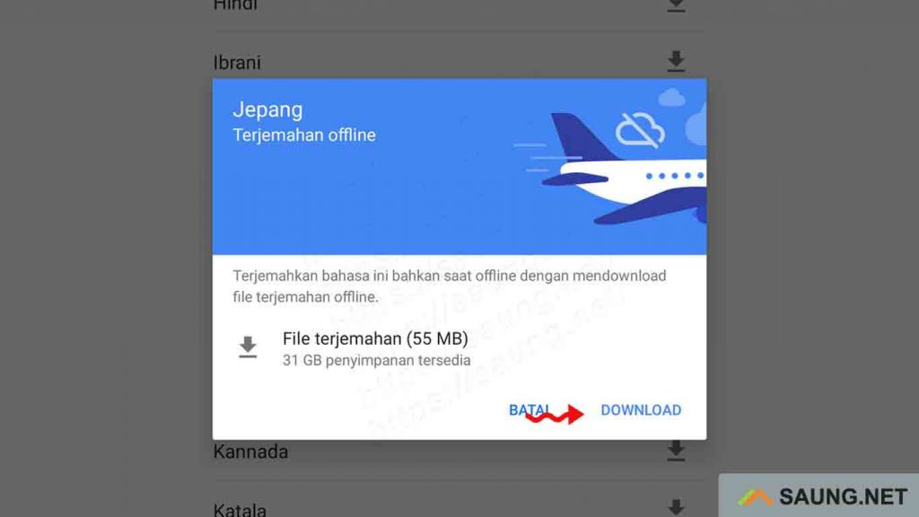 translate offline
