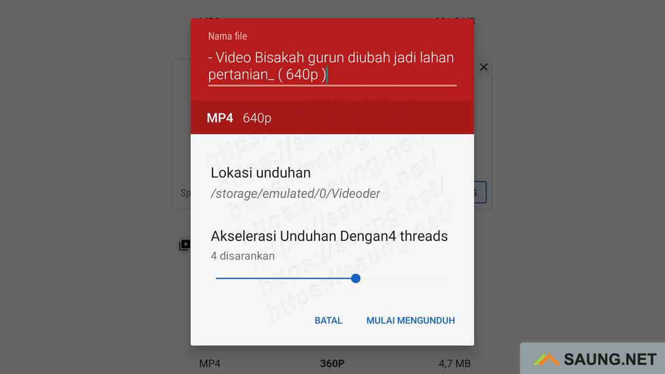 aplikasi download video di facebook lite