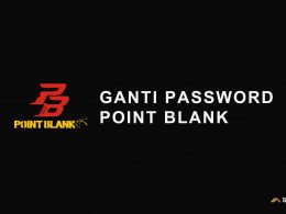 ganti password point blank