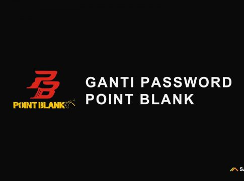 ganti password point blank