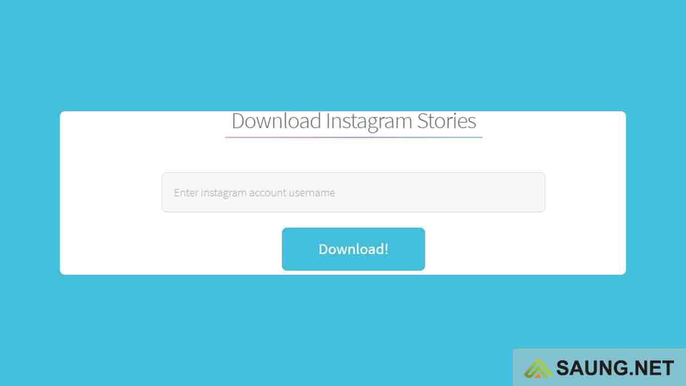 cara download ig story