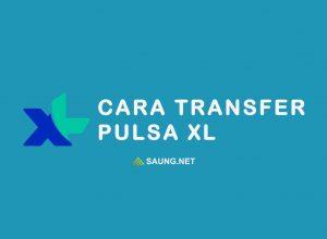 xl transfer pulsa