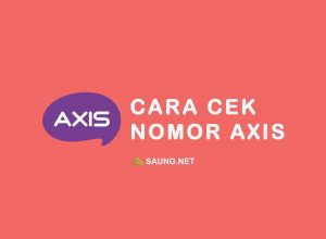 cek nomor Axis