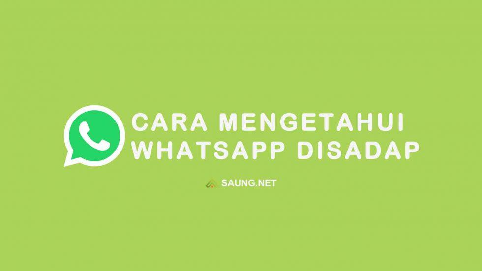 Cara Mengetahui Whatsapp Disadap