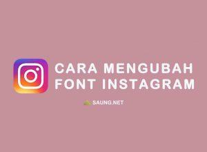 Font Instagram