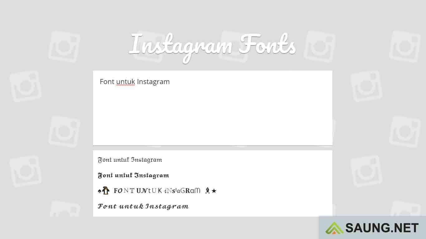 download font instagram