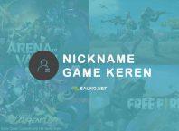 nickname game keren