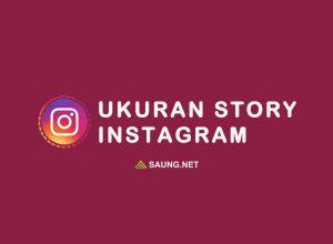 ukuran instagram story