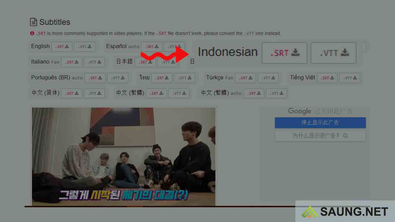 cara download video di vlive sub indo