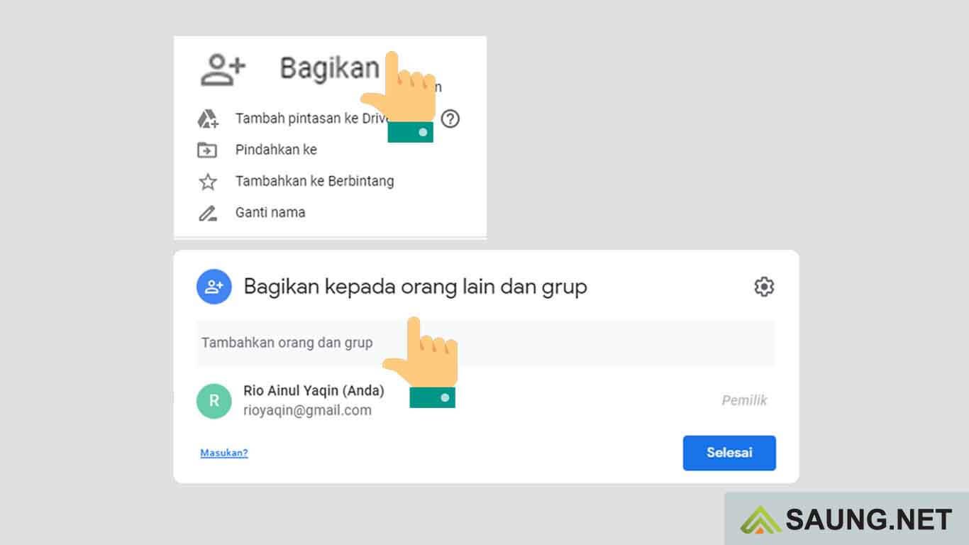 Lihat Cara Membuat Google Drive Yang Bisa Diakses Semua Orang mudah