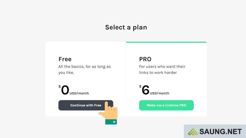 cara membuat link di linktree