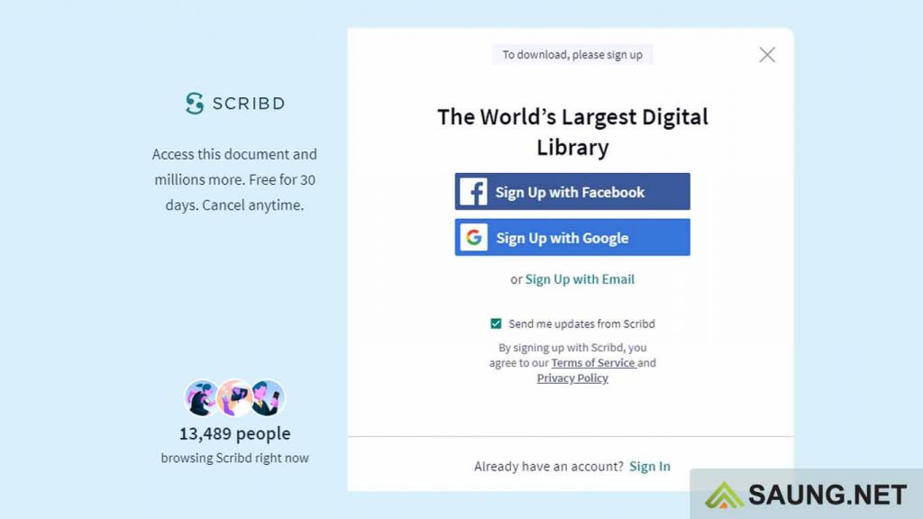 download scribd gratis