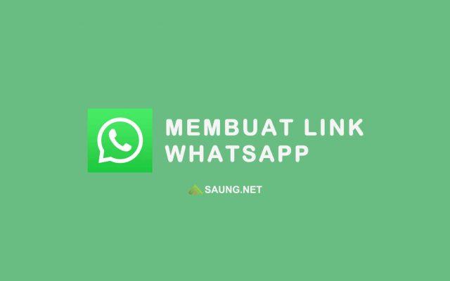 membuat link whatsapp