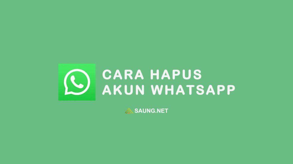 cara menghapus akun whatsapp