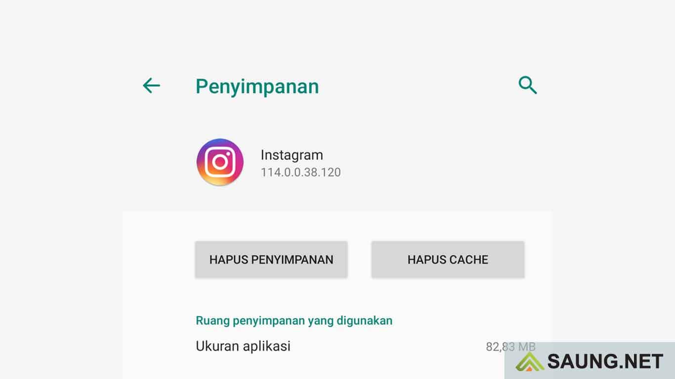 cara menghapus history pencarian di instagram
