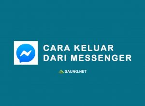 cara keluar dari messenger
