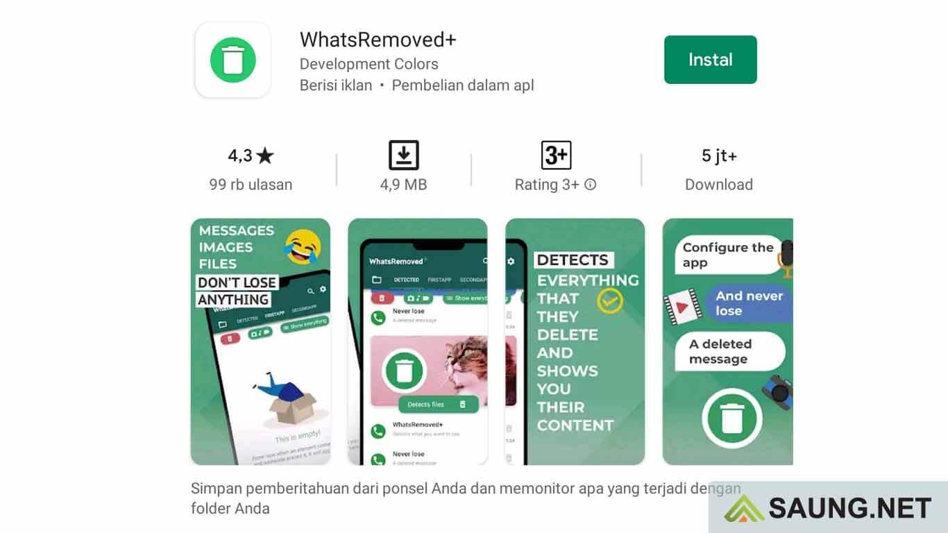 cara membaca pesan whatsapp yang dihapus