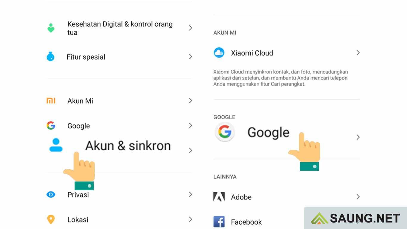 cara logout akun google di hp