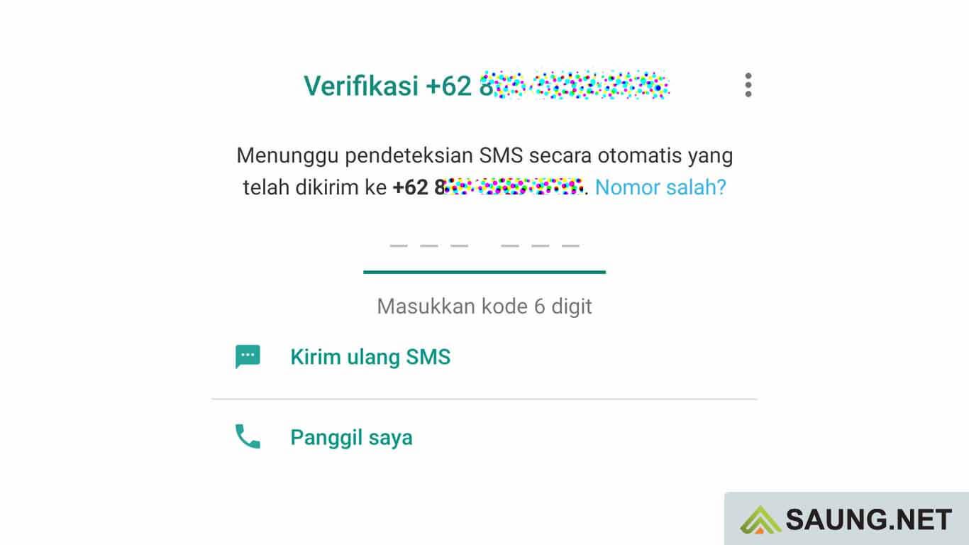 whatsapp gagal verifikasi nomor
