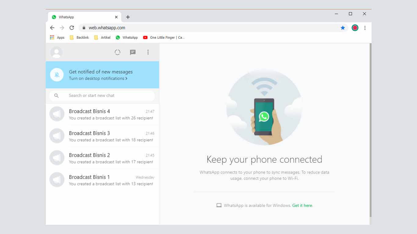 Cara Membuat Pesan Broadcast Di Whatsapp Dengan Mudah
