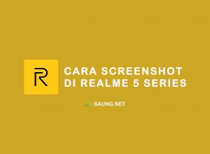 cara screenshot di hp realme 5