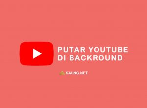 cara putar youtube di background