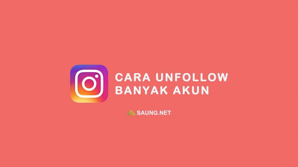 cara unfollow instagram tanpa aplikasi