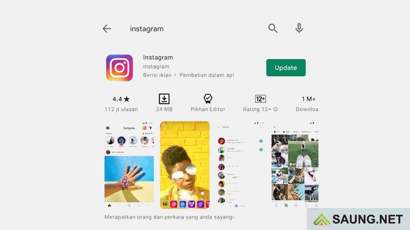 instagram error tidak bisa login