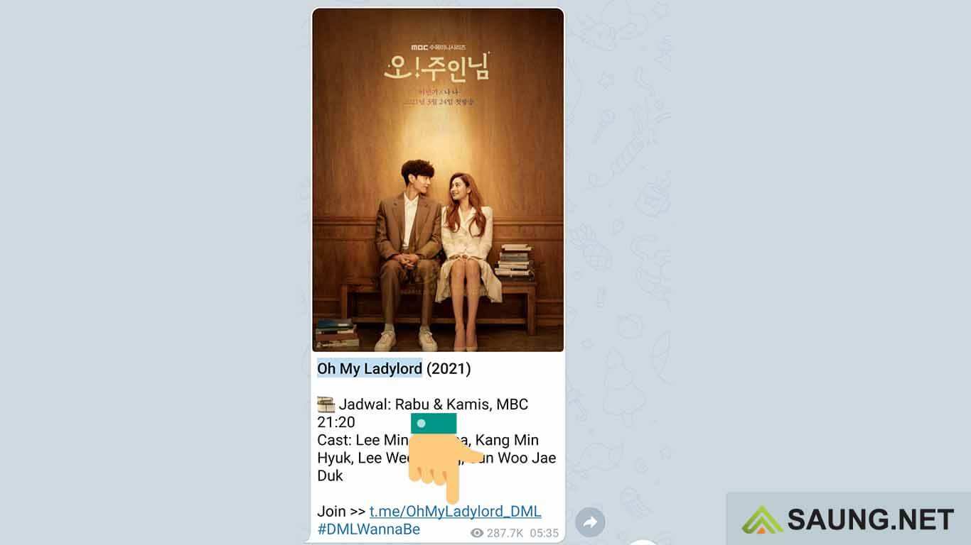 cara nonton film korea di telegram