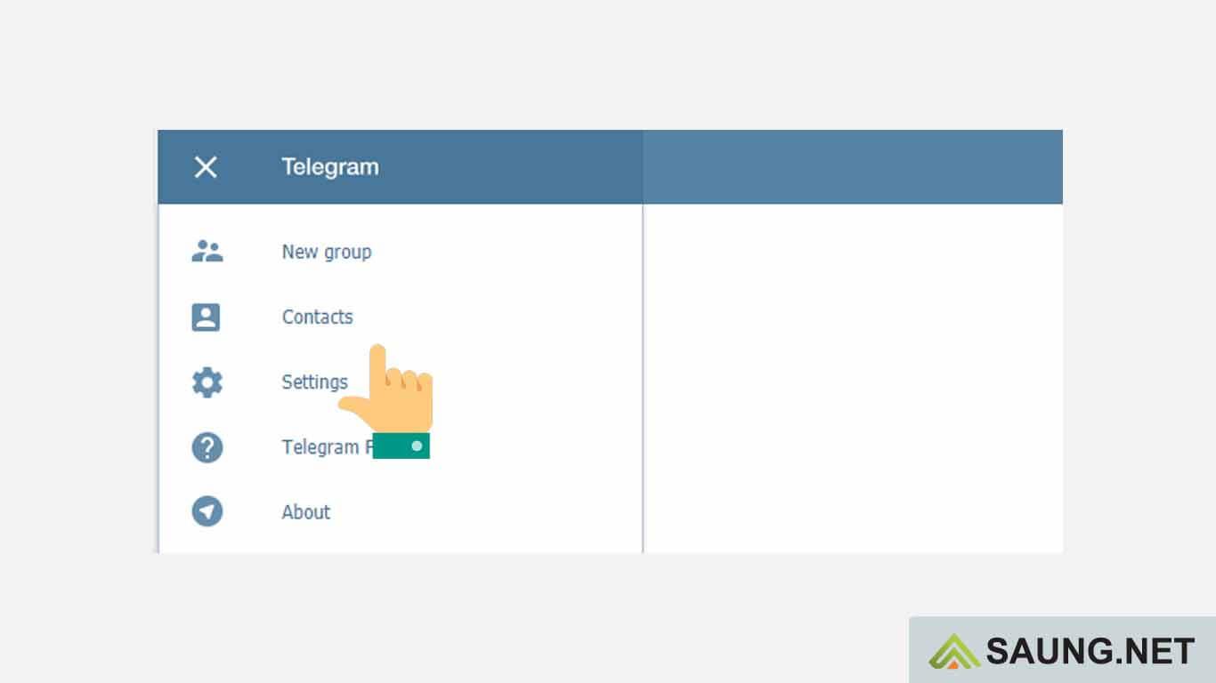 bagaimana cara logout telegram web