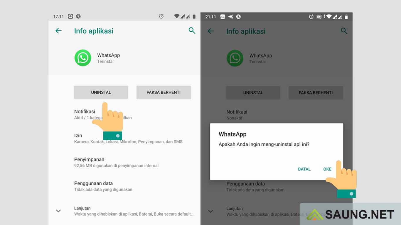 cara mematikan whatsapp sementara tanpa mematikan data