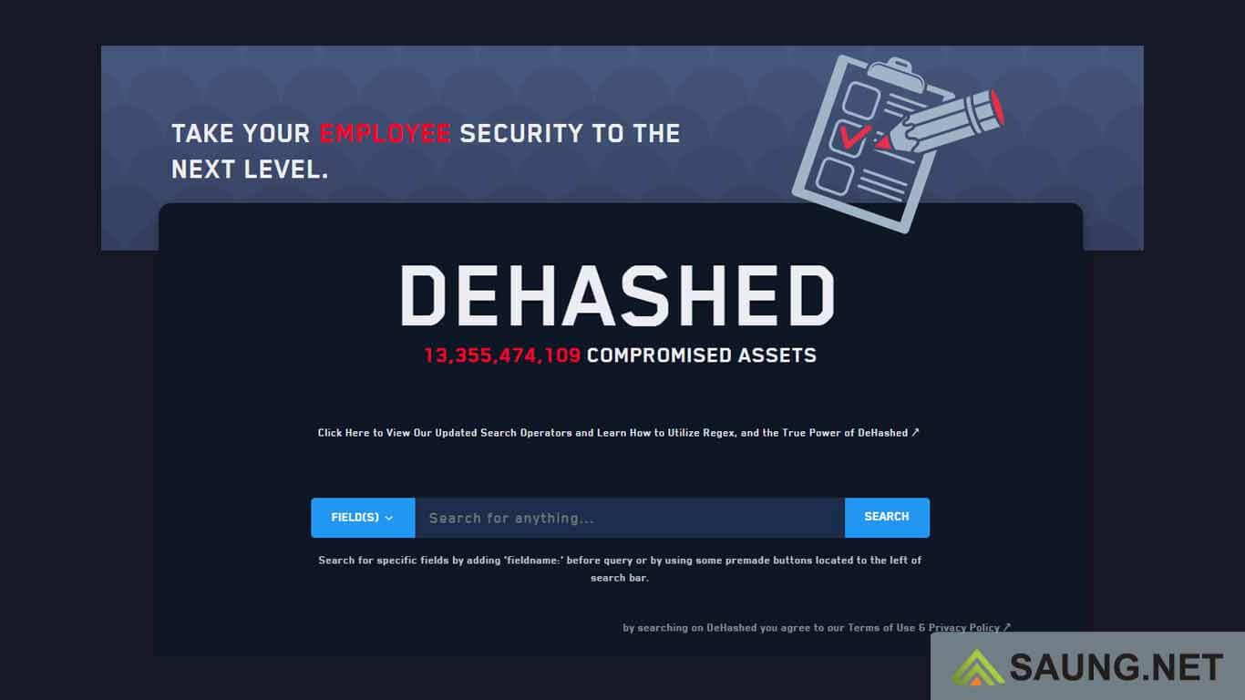 Kebocoran data pribadi