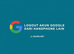 cara mengeluarkan akun google dari perangkat lain